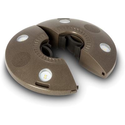 Luz de sombrilla ION Patio Mate con altavoces Bluetooth