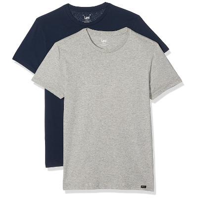 Pack de dos camisetas básicas Lee Twin Crew
