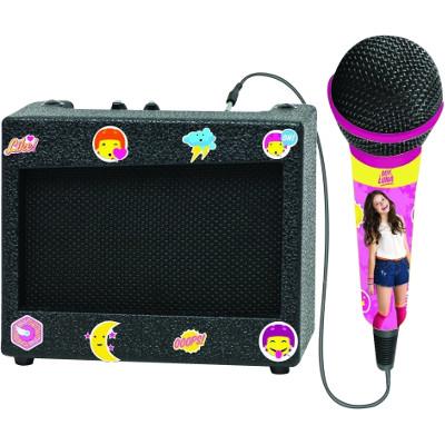 Altavoz karaoke con micrófono Soy Luna de Lexibook.jpg