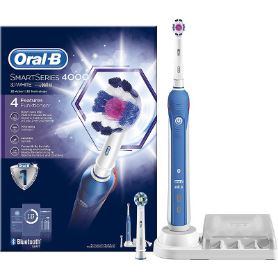 Cepillo eléctrico Oral-B SmartSeries 4000 3D White