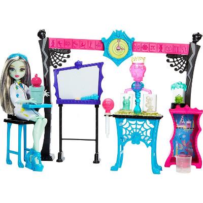 Clase de ciencia loca Monster High