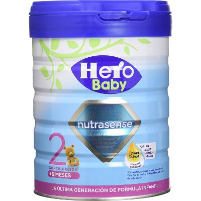 Pack de 2 leches de continuación Hero Baby Nutrasense