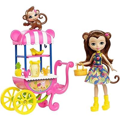 Muñeca Merit Monkey de Enchantimals con su carrito de fruta.jpg
