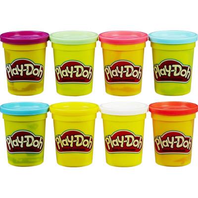Pack de 8 botes aleatorios Play-Doh