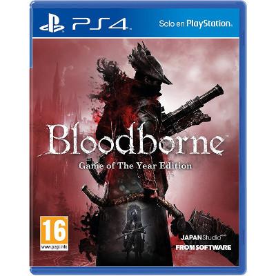 Videojuego Bloodborne edición juego del año