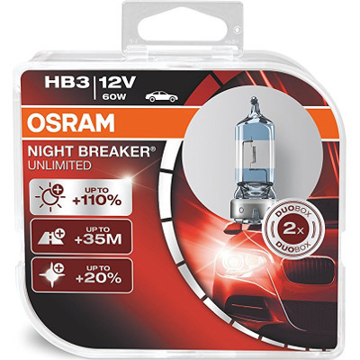 Bombillas para el coche Osram Night Breaker Unlimited Duo Box