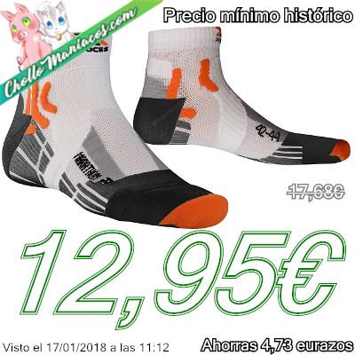 Calcetines tobilleros para hacer deporte X-Socks Marathon Run.jpg