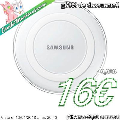 Cargador inalámbrico Samsung Wireless Charger