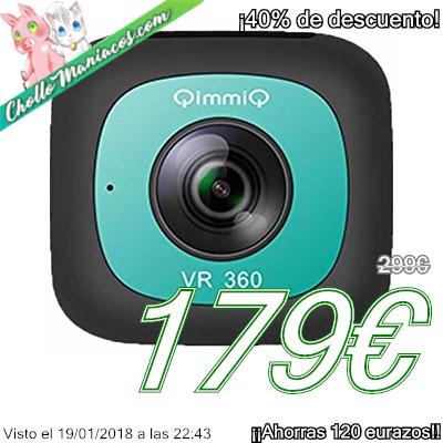 Cámara de 360 grados QIMMIQ VR360