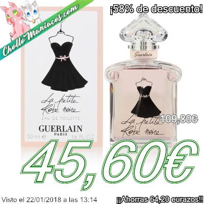 Colonia de 100ml Guerlain Paris La Petite Robe Noire