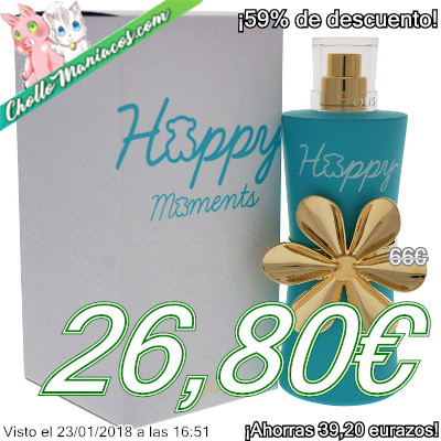 Colonia de 90ml Tous Happy Moments