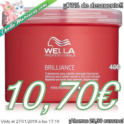 Mascarilla para cabello tintado Wella de 500ml