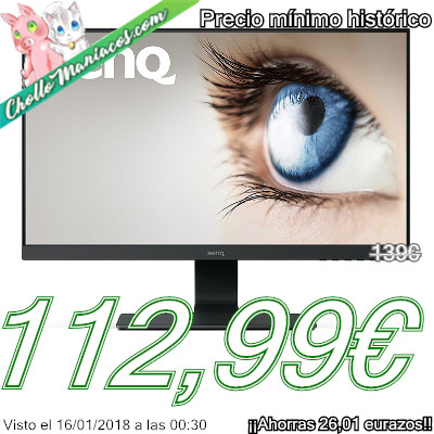 Monitor de 24,5 pulgadas BenQ GL2580H