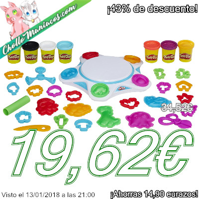 Plastilina Play-Doh Touch Shape to Life Studio