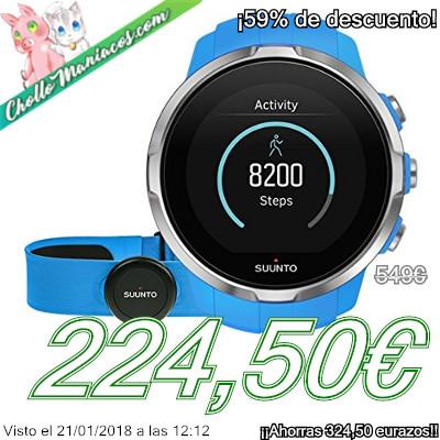 Reloj GPS multideporte Suunto Spartan Sport Blue