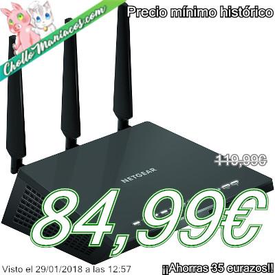 Router WiFi Netgear AC1900