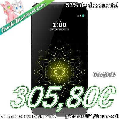 Smartphone LG G5 Modular Titan con 4GB de RAM y 32GB