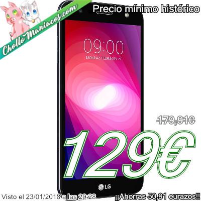 Smartphone LG X power 2 con 2GB de RAM y 16GB
