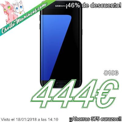 Smartphone Samsung S7 edge con 4GB de RAM y 32GB
