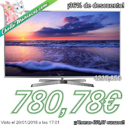Televisor Smart TV Wi-Fi de 50 pulgadas 4K HDR 3D Panasonic EX780