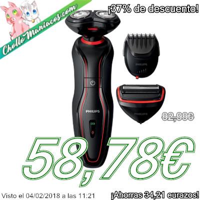 Afeitadora Philips Click & Style