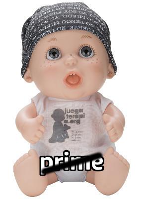 Baby pelón de Juegaterapia 03 Hombre de Negro No Prime