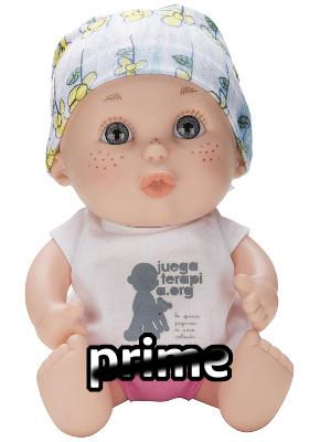 Baby pelón de Juegaterapia 05 María No Prime