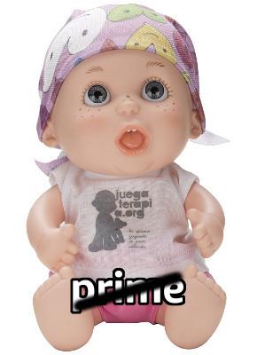 Baby pelón de Juegaterapia 08 Rossy de Palma No Prime