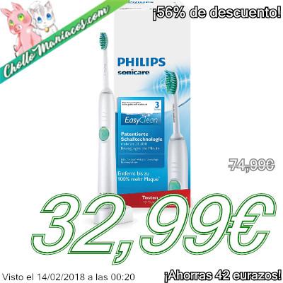 Cepillo eléctrico Philips Sonicare EasyClean