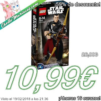 Juego de construcción LEGO Star Wars Chirrut Îmwe de Rogue One