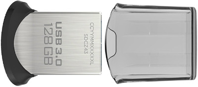 Memoria USB 3.0 Sandisk Ultra Fit de 128GB detalle