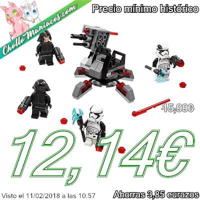 Pack de combate de especialistas de La Primera Orden de LEGO Star Wars