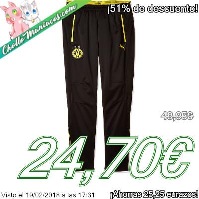 Pantalón deportivo Puma del Borussia Dortmund