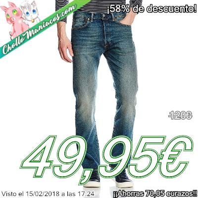 Pantalones vaqueros Levi's 501 Original Fit