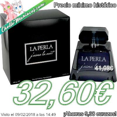 Perfume de 100ml J'Aime La Nuit La Perla