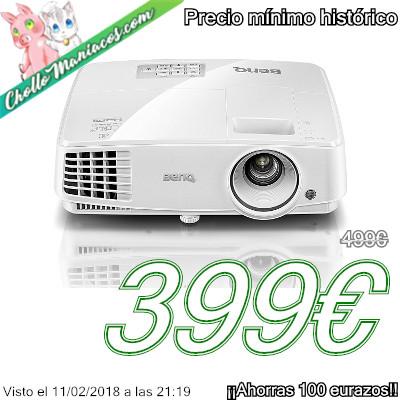Proyector DLP 3D XGA BenQ MX570