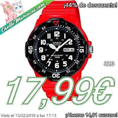 Reloj Casio Collection MRW-200HC-4BVEF