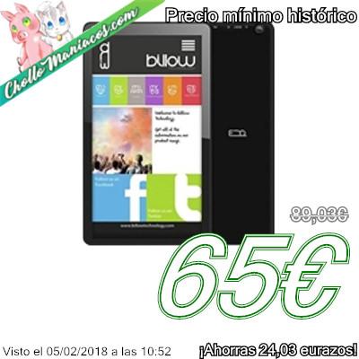 Tablet Billow X101 con 1GB de RAM y 8GB