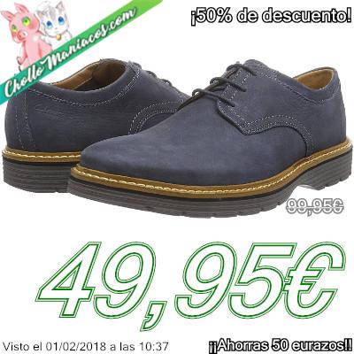 Zapatos Clarks Newkirk Plain